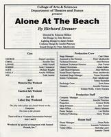 July 9-12: Alone At the Beach
