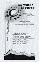 June 19-21: Androcles and the Lion