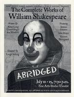July 11-15: The Complete Works of Shakespeare: Abridged