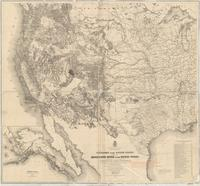 Territory of the United States, from the Mississippi River to the Pacific Ocean : originally prepared to accompany the reports of the explorations for a Pacific railroad route
