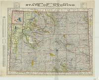 Clason's sectional map : state of Wyoming