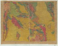 [Geologic map of Wyoming].