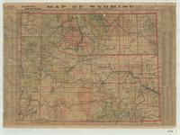 Clason's industrial map of Wyoming.
