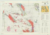 Metallic and industrial minerals map of Wyoming