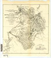 Map of the sources of Snake River : with its tributaries together with portions of the headwaters of the Madison and Yellow Stone, principally the results from observation during the Snake River Expedition reduced from the preliminary map after surveys