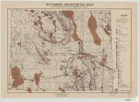 Wyoming resources map