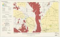 Oil and gas fields map of southeastern Wyoming basins