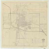 City map, Laramie, Albany County, Wyoming