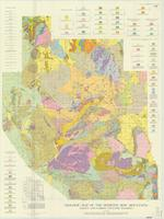 Geologic map of the Medicine Bow Mountains, Albany and Carbon Counties, Wyoming