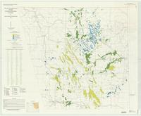 Oil and gas fields map of the Powder River Basin, Wyoming