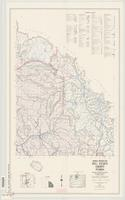 General highway map, Big Horn County, Wyoming