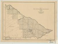 Map of Wind River Indian Reservation, Wyoming