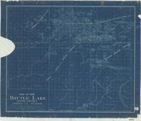 Map of the Battle Lake Mining District, Carbon Co., Wyoming