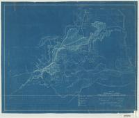 Map of irrigable lands tributary to Shoshone River