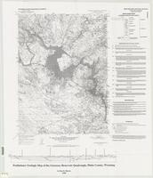 Preliminary geologic map of the Guernsey Reservoir quadrangle, Platte County, Wyoming