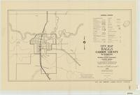 City map, Baggs, Carbon County, Wyoming