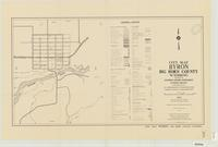 City map, Byron, Big Horn County, Wyoming