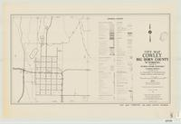 City map, Cowley, Big Horn County, Wyoming