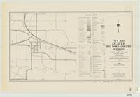 City map, Deaver, Big Horn County, Wyoming