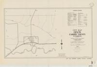 City map, Dixon, Carbon County, Wyoming
