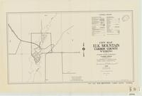 City map, Elk Mountain, Carbon County, Wyoming