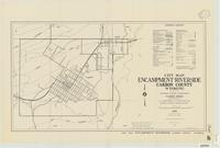 City map, Encampment-Riverside, Carbon County, Wyoming