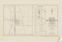 City map, Frannie, Big Horn County, Wyoming