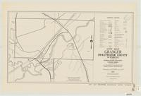 City map, Granger, Sweetwater County, Wyoming