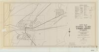 City map, Hanna-Elmo, Carbon County, Wyoming