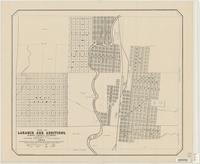 Map of Laramie and additions, Albany County, Wyoming