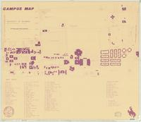 Campus map : University of Wyoming