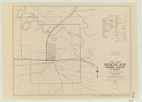 City map, Medicine Bow, Carbon County, Wyoming
