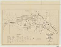 City map, Newcastle, Weston County, Wyoming