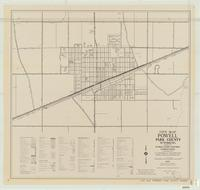 City map, Powell, Park County, Wyoming