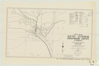 City map, South Superior, Sweetwater County, Wyoming