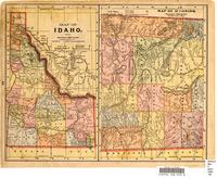 Map of Idaho : Map of Wyoming ; Map of Montana