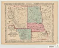 Johnson's Nebraska, Dakota, Colorado, Idaho & Kansas