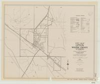 City map, Upton, Weston County, Wyoming