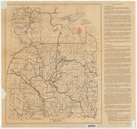 Recreation map, Targhee and Teton national forests, Idaho and Wyoming