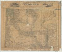 Holt's new map of Wyoming : compiled by permission from official records in U.S. Land Office