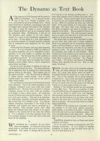 [Page of] The Dynamo - November 1919