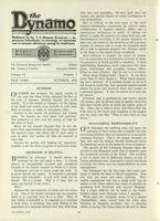 [Page of] The Dynamo - October 1922