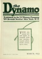 [Page of] The Dynamo - March 1922