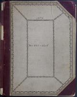 Aven Nelson collecting field book 1894 : records nos. 509 to 1208.