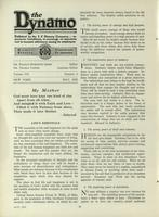 [Page of] The Dynamo - May 1923