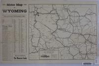 Motor map of Wyoming, 1921.