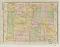 The Rand-McNally new commercial atlas map of Wyoming.