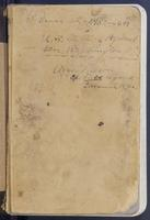 Aven Nelson collecting field book 1897 : records nos. 3752-4481 (serial arrangement)