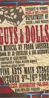 University of Wyoming College of Arts & Sciences Department of Theatre & Dance Presents Guys and Dolls, A Musical by Frank Loess