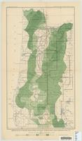 Preliminary map of western Oregon, showing the density of merchantable timber, expressed in feet, B.M.